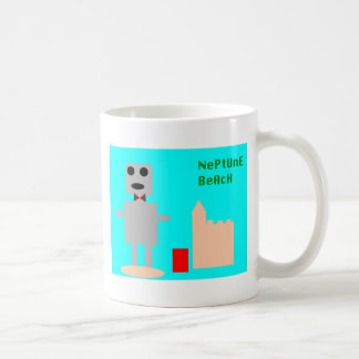 Neptune Beach Robot 1 Coffee Mug