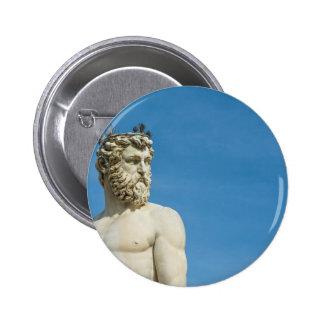 Neptune in Florence02 6 Cm Round Badge