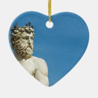 Neptune in Florence02 Ceramic Ornament