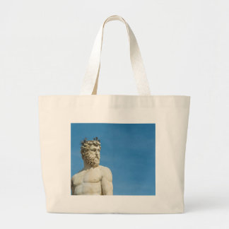 Neptune in Florence02 Large Tote Bag