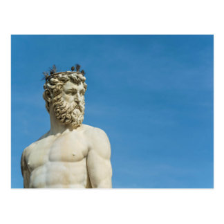 Neptune in Florence02 Postcard