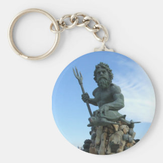 Neptune Pin Key Ring