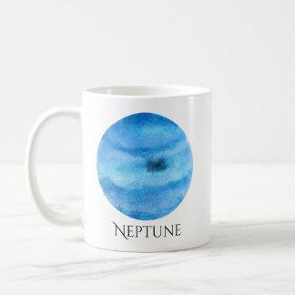 Neptune Planet Watercolor Mug