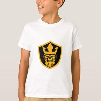 Neptune Skull Front Shield T-Shirt