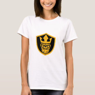 Neptune Skull Front Shield T-Shirt