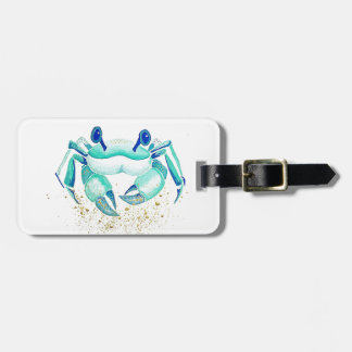 Neptune's Crab Luggage Tag