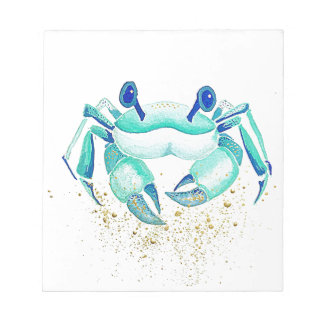 Neptune's Crab Notepad