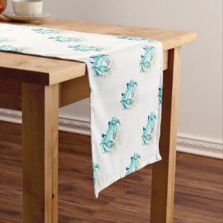 Neptune's Crab Short Table Runner