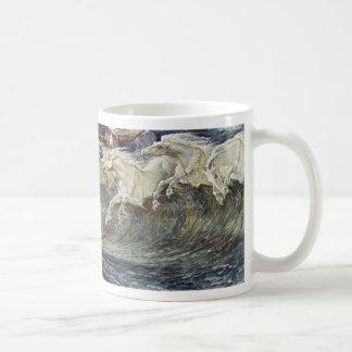 Neptune'S Horses By Crane Walter Mug