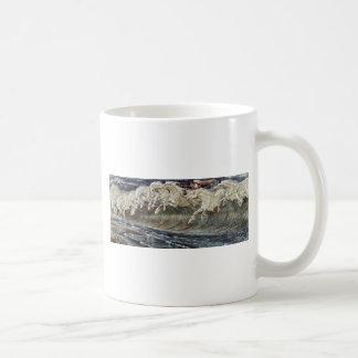 Neptune'S Horses By Crane Walter Coffee Mug