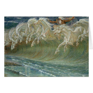Neptunes Horses Card