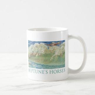 NEPTUNE'S HORSES RIDE THE WAVES COFFEE MUG