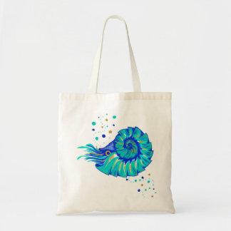 Neptune's Nautilus Tote Bag