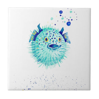 Neptune's Pufferfish Tile