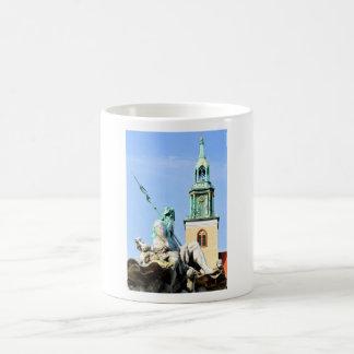 Neptun's fountain in Berlin, Germany Coffee Mug