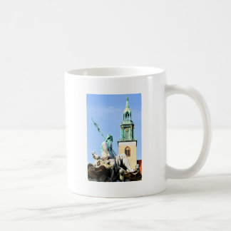 Neptun's fountain in Berlin, Germany Coffee Mug