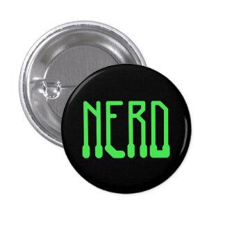 Nerd 3 Cm Round Badge