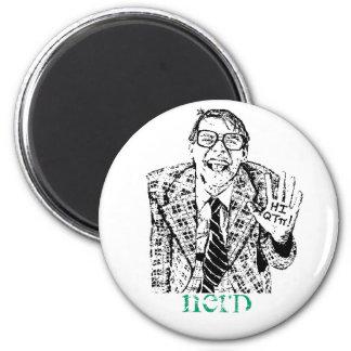 Nerd 6 Cm Round Magnet