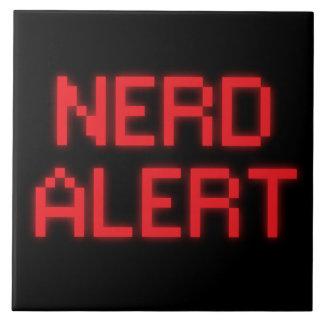 Nerd Alert Ceramic Tile