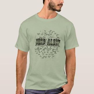 Nerd alert, cool trendy nerd t-shirt! T-Shirt