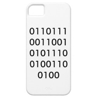NERD binary Barely There iPhone 5 Case