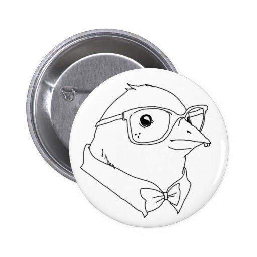 Nerd Bird Buttons