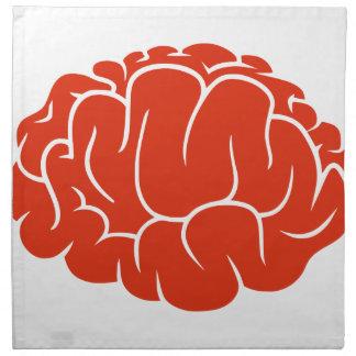 Nerd brain napkin
