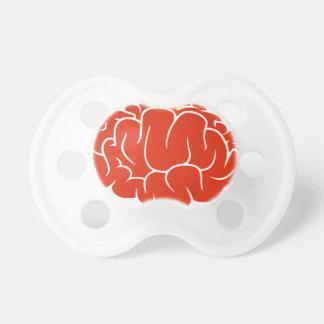 Nerd brain pacifier