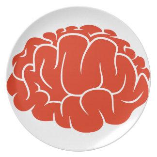 Nerd brain plate