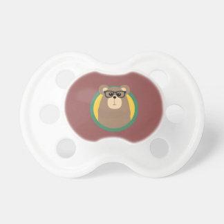 Nerd Brown Bear with cirlce Dummy
