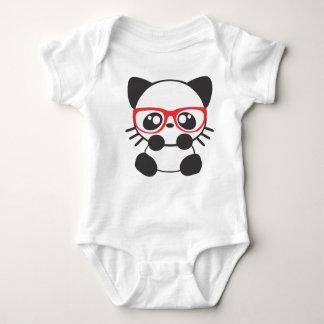 Nerd Cat Baby Bodysuit