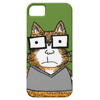 Nerd Cat iPhone 5 Cases
