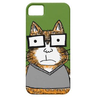 Nerd Cat iPhone 5 Case