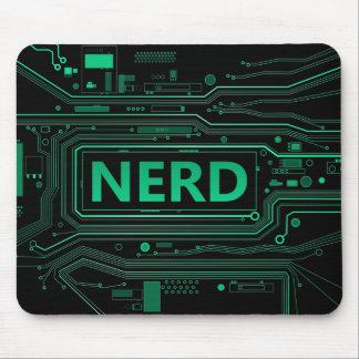 Nerd concept. mouse pad