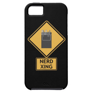 nerd crossing iPhone 5 case