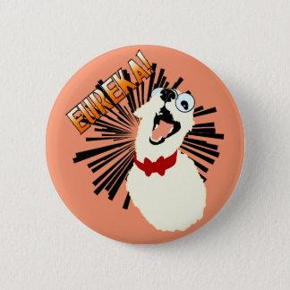 Nerd Dog 6 Cm Round Badge