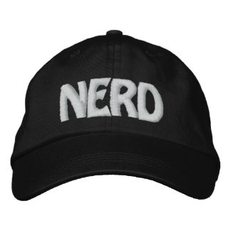 NERD EMBROIDERED HAT