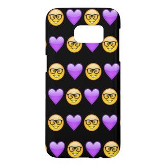 Nerd Emoji Samsung Galaxy S7 Phone Case