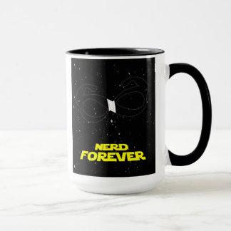 nerd forever mug
