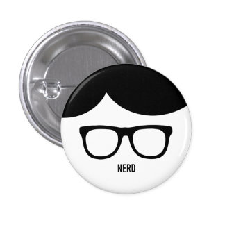 Nerd Funny button
