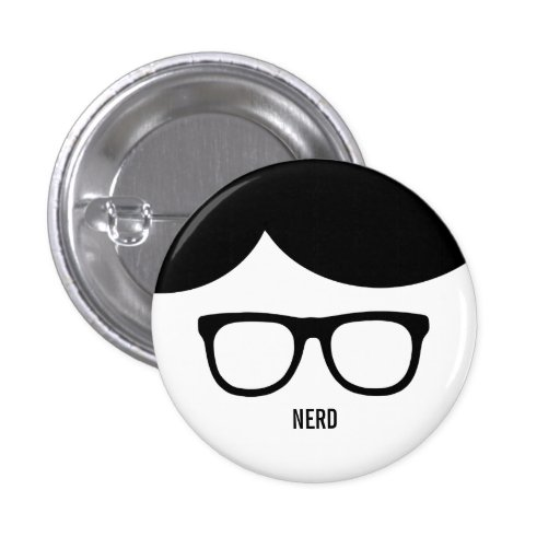 Nerd Funny button