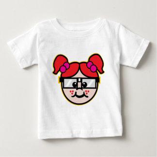 Nerd Girl Baby T-Shirt