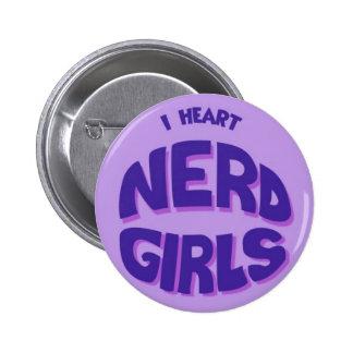 Nerd Girl Buttons