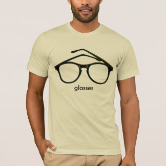 Nerd Glasses pink mens semi fitted tshirt