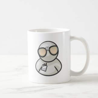 Nerd Guy Basic White Mug