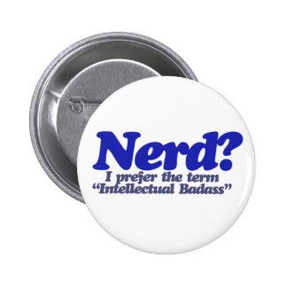 Nerd Humor 6 Cm Round Badge