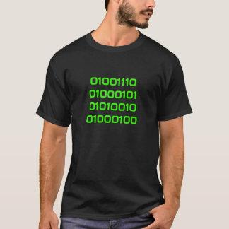 Nerd in Binary T-Shirt