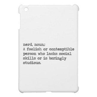 nerd iPad mini cover