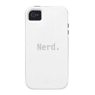 Nerd iPhone 4 4s Tough Case Sleeve - Nerd Phone iPhone 4/4S Cases
