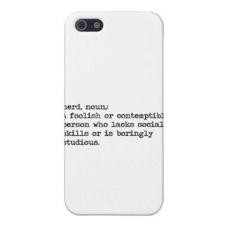 nerd iPhone 5 case